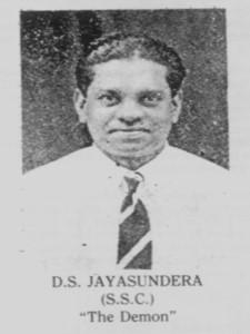 D.S. Jayasuriya